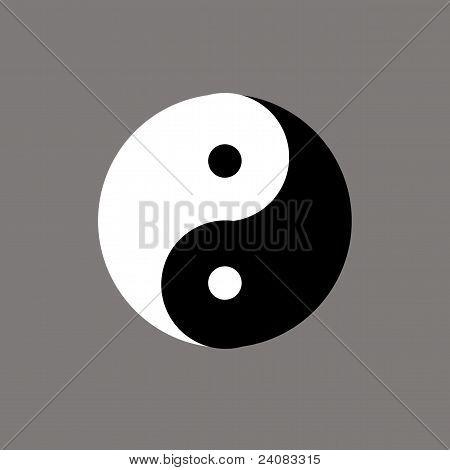 The Chinese symbol of yin-yang