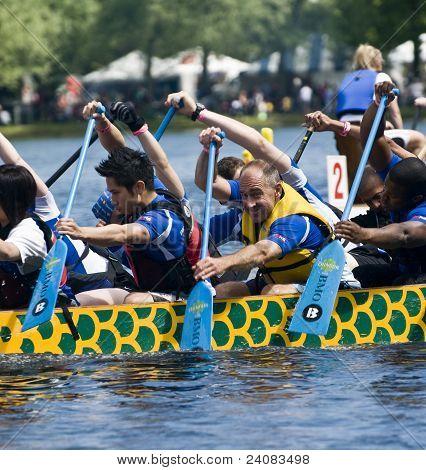 Bank of Montreal BMO Dragon Boat