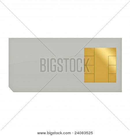 Sim card for mobile (cellular) phone