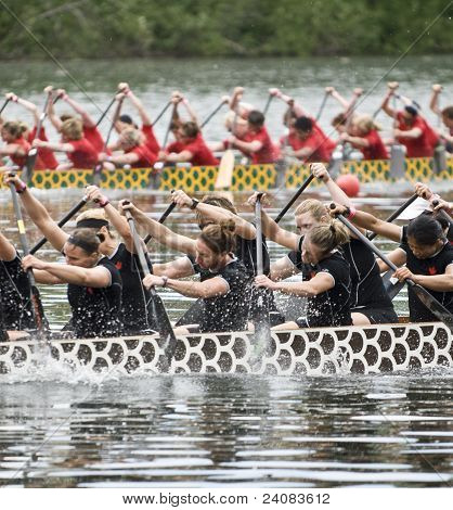 Canadian National Womens Premier Dragon Boat