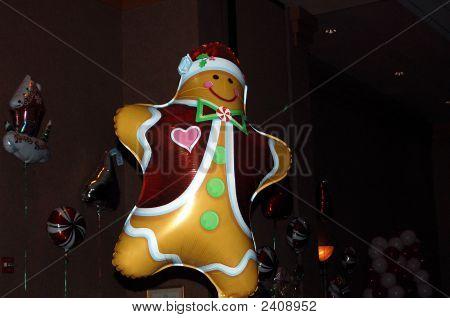 Gingerbread Man Balloon