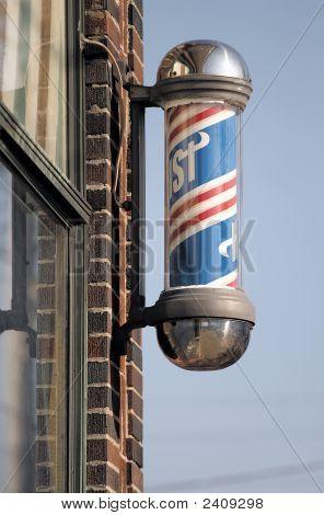 Old Vintage Barber Shop Pole Image & Photo   Bigstock
