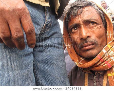 Portrait Of A Day Labourer