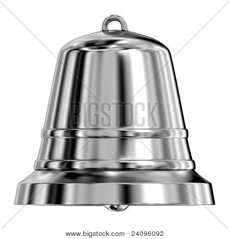Shiny Metal Bell,frontal View