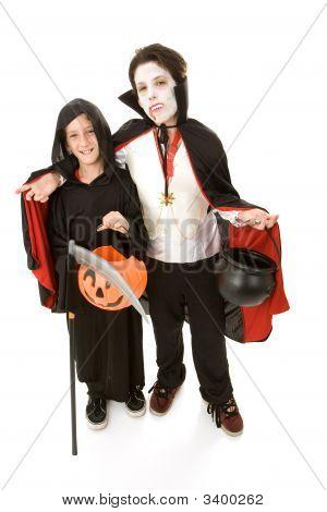 Boys In Costume