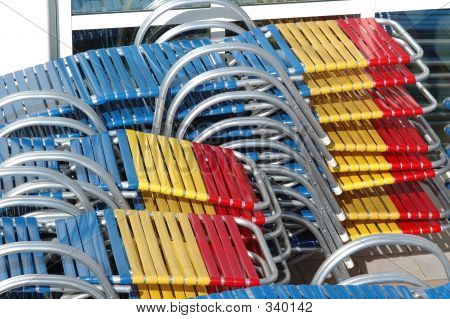 Stacked Deck Chairs