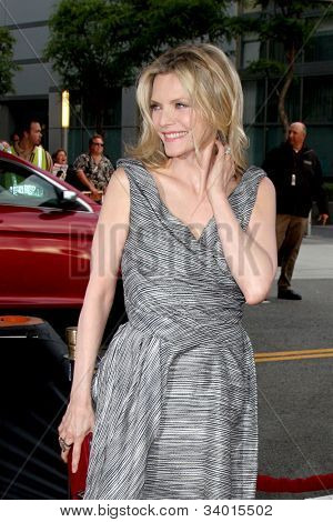 "LOS ANGELES - JUN 15:  Michelle Pfeiffer arrives at the ""People LIke Us"" LAFF Premiere at Regal Cinemas at LA Live on June 15, 2012 in Los Angeles, CA"