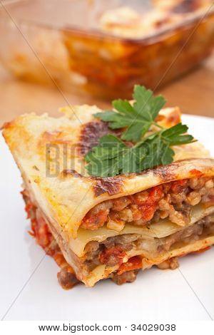 classic beef lasagna