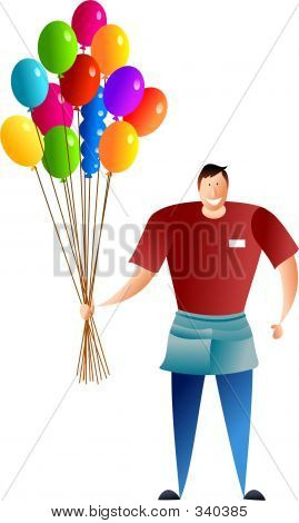 Balloon Seller