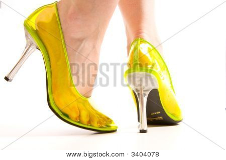 See Through Fetish Shoes