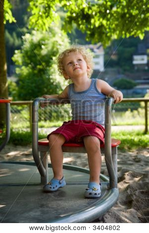 Boy At The Playground