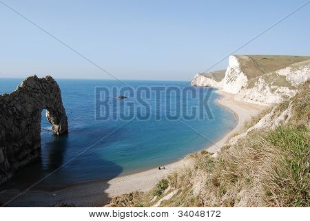 natural arch Durdle Door