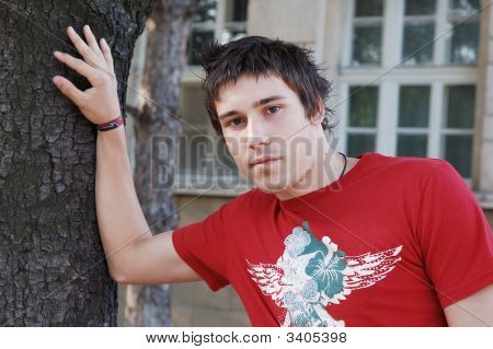 Young Man Outdoors
