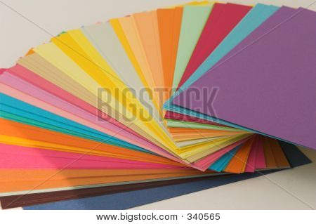 Assorted Colored Card
