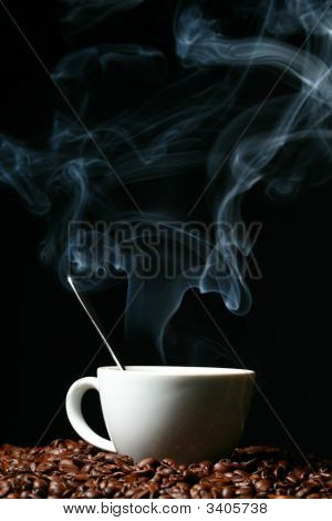 Hot Morning Coffee