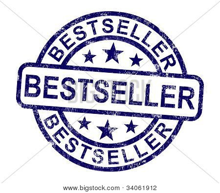 Bestseller Stamp Shows Top Rated Or Leader