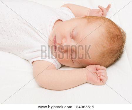Sleeping Newborn Baby