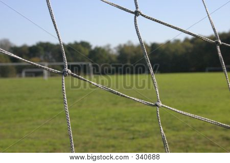 Goal Net Of Soccer