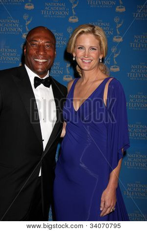 LOS ANGELES - JUN 17:  Byron Allen arrives at the 2012 Daytime Creative Emmy Awards at Westin Bonaventure Hotel on June 17, 2012 in Los Angeles, CA