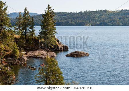 Coeur D Alene Lake