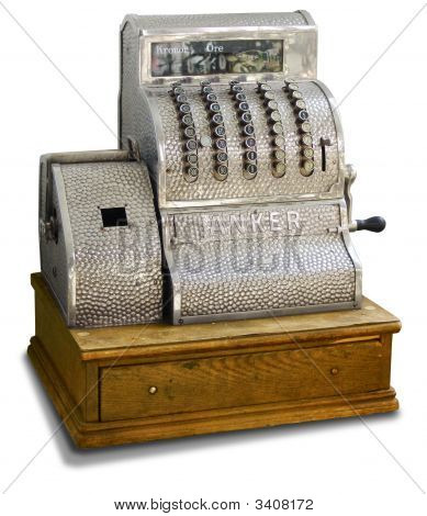 Cash Register Old