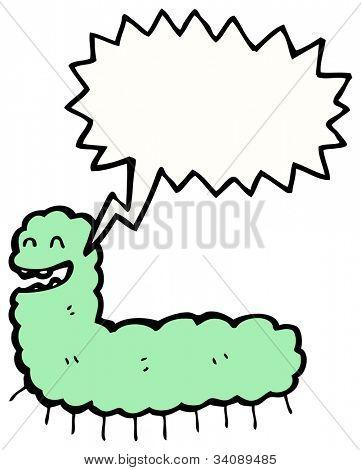 funny caterpillar cartoon
