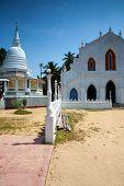 Old Buddhist Temple Complex Of Sri Pushparama Maha Viharaya, Near Balapitiya, Welitara Region, South poster
