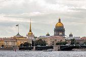 Saint Petersburg Main Attractions poster