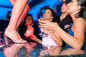 pic of bachelor party  - People having a party in club or bar - JPG