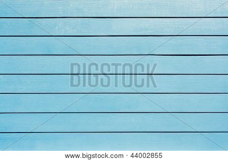 the background of new blue painted wood