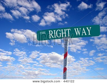 Right Way Street
