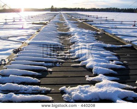 A Frozen Pier