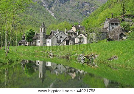 Bavona Valley,Ticino Canton,Switzerland