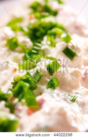 Chives And Cottage Cheese