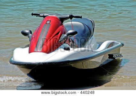 Jetski On Beach