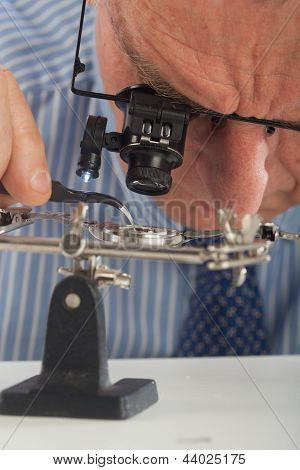 Watchmaker Close-up