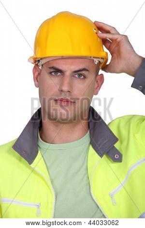 Upset worker