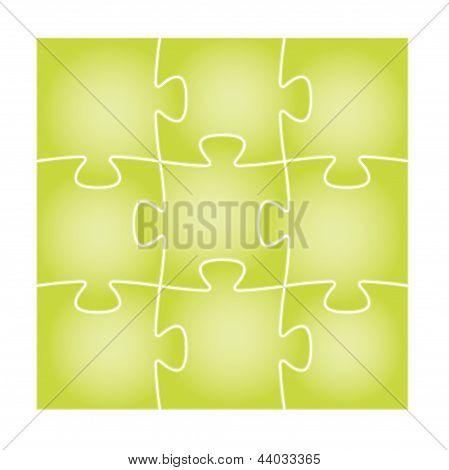 green puzzle board