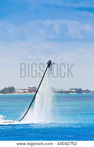 Jet Pack On Water