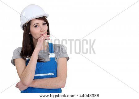 Female manual worker