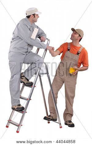 Two decorators working together