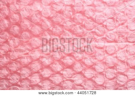Pink Air Bubble Sheet