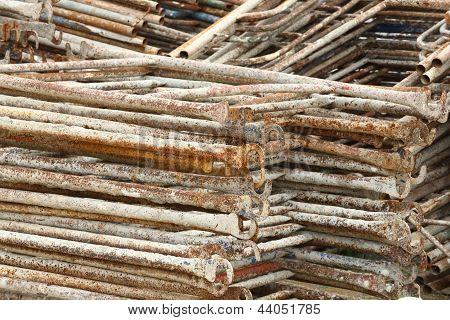 Rusty Scaffolding
