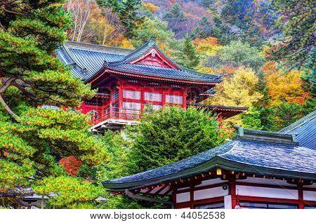 Chuzen-ji Temple in Nikko, Tochigi, Japan. october 31