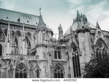 Notre Dame De Paris: Flying Buttress