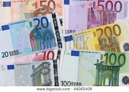 All Seven Euro Banknotes