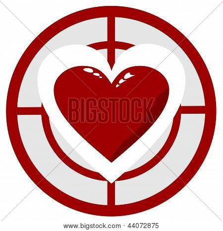 Heart In The Target
