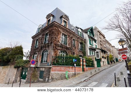 Houses On Montmartre, Paris