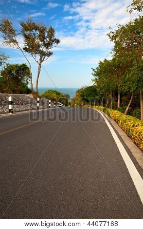 Road to the sea