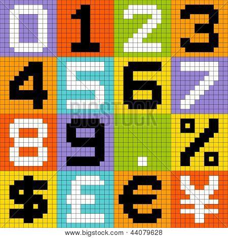 8-bit Pixel Numbers